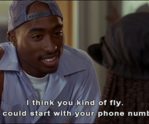 tupac, 90s, and poetic justice image
