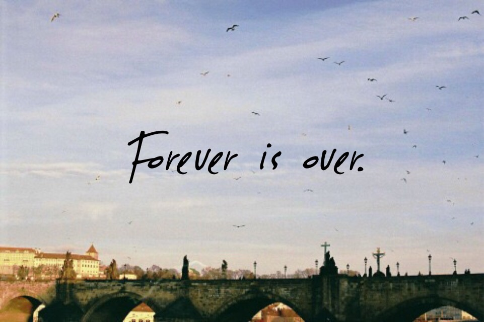 break up, forever, and over image