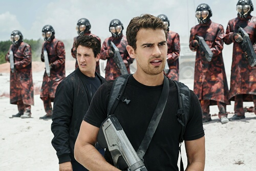 four, allegiant, and peter image