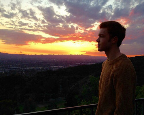 cameron monaghan, shameless, and sunset image
