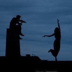 dance, couple, and music image
