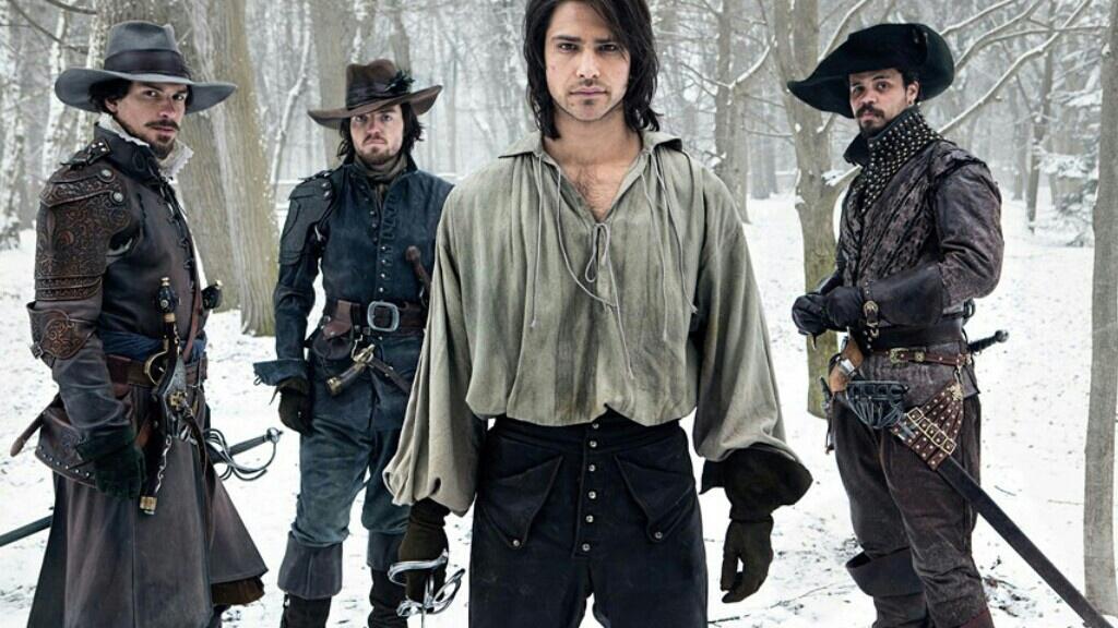 the musketeers, luke pasqualino, and athos image