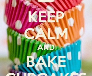 background, bake, and cupcakes image