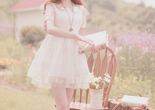 dress, pastel, and kawaii image