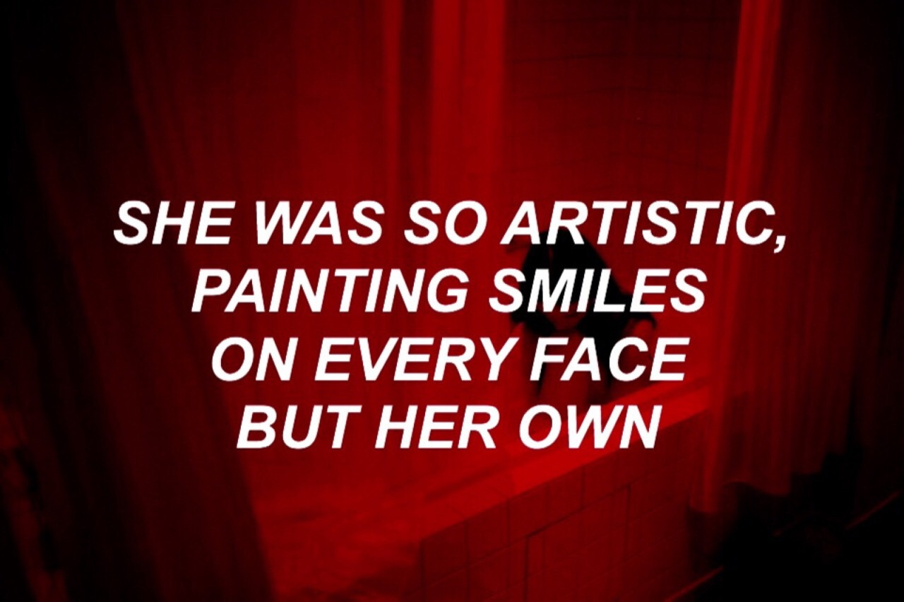 quotes, red, and smile image