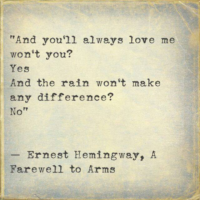 quote, rain, and love image