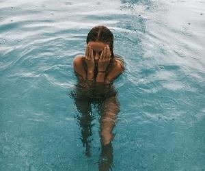 beach, bikini, and girl image