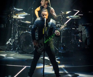 muse, dom howard, and chris wolstenholme image