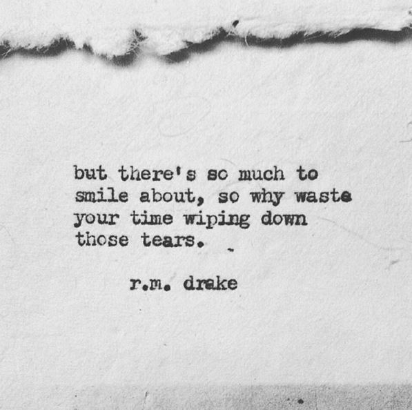 smile, quotes, and tears image