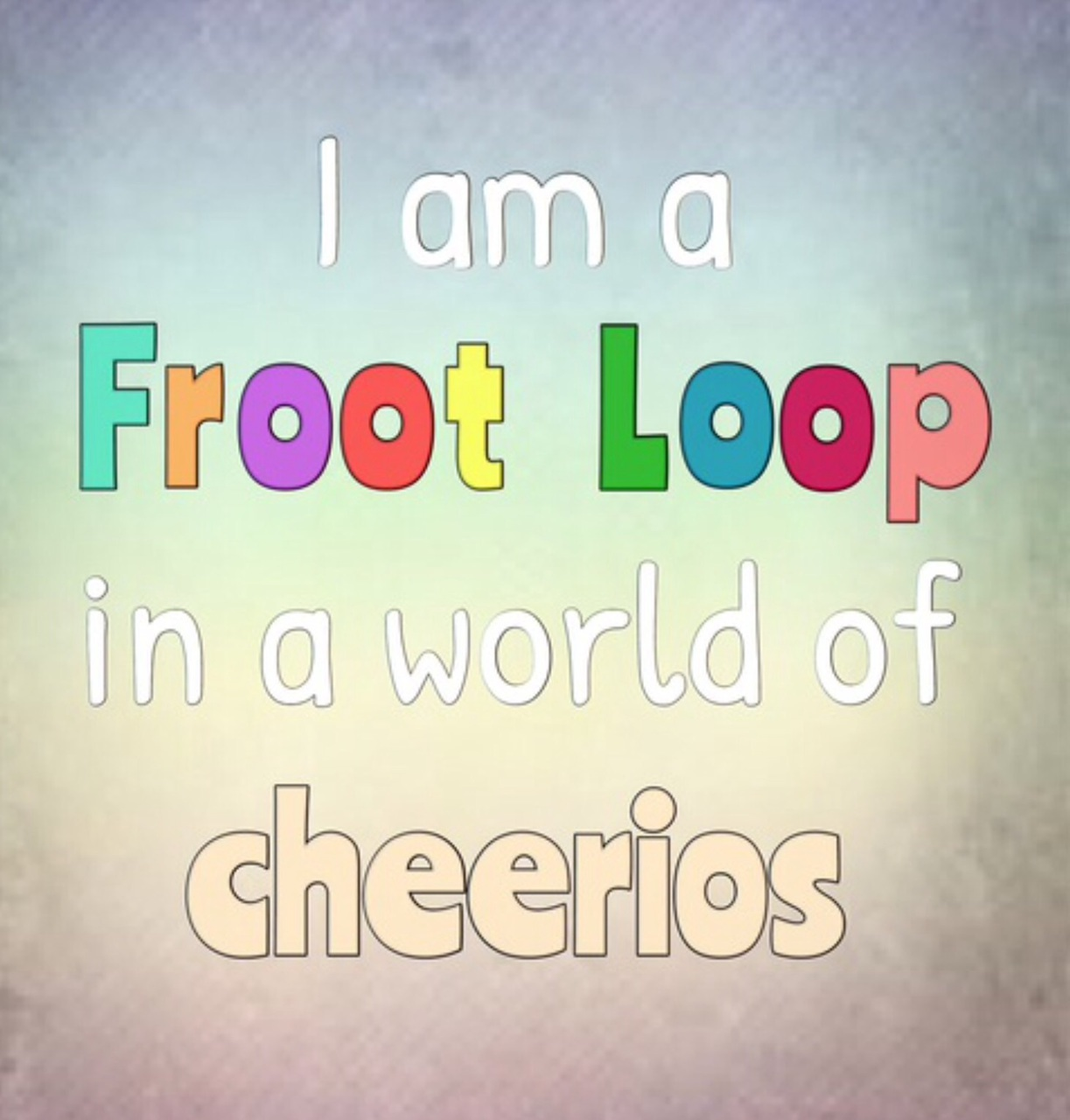 cheerios, food, and froot loops image