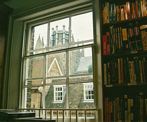 books, photography, and window image