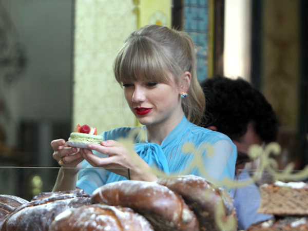 Taylor Swift, begin again, and music image