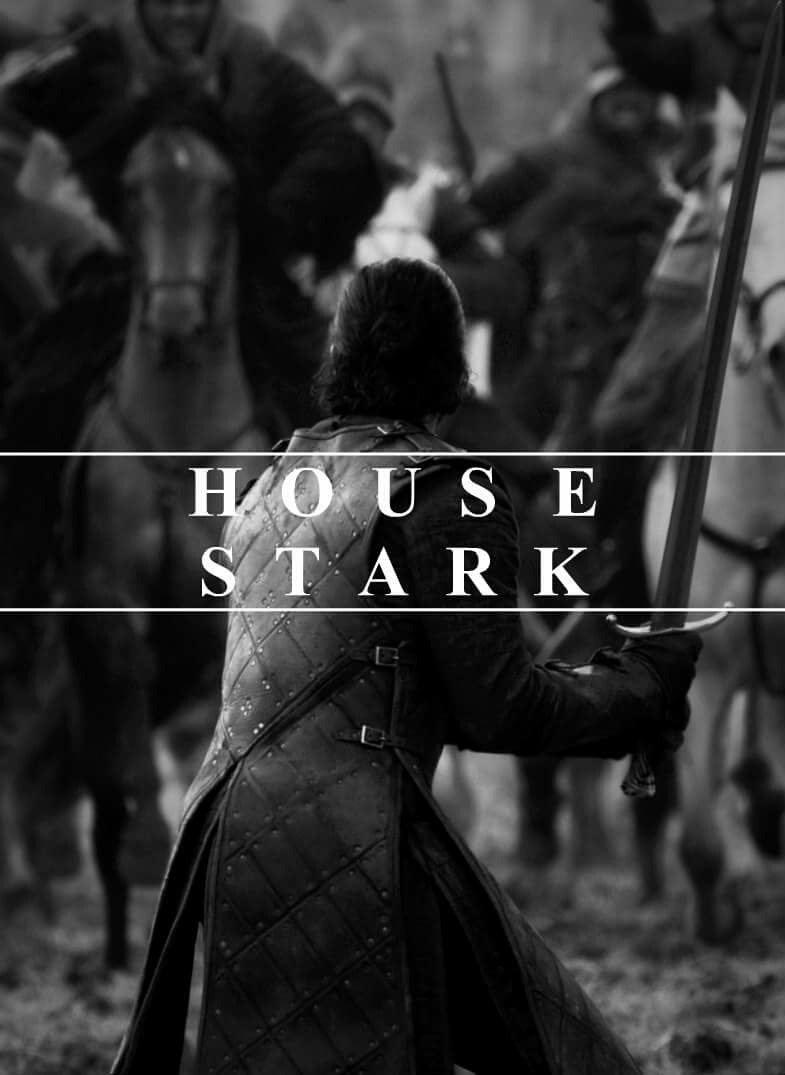 game of thrones, jon snow, and house stark image