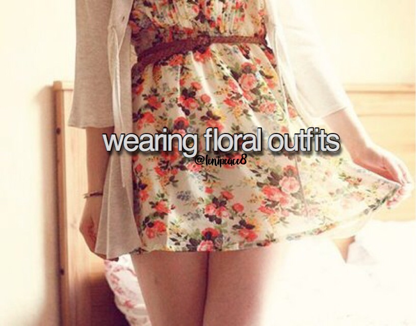 cardigan, floral, and girly image