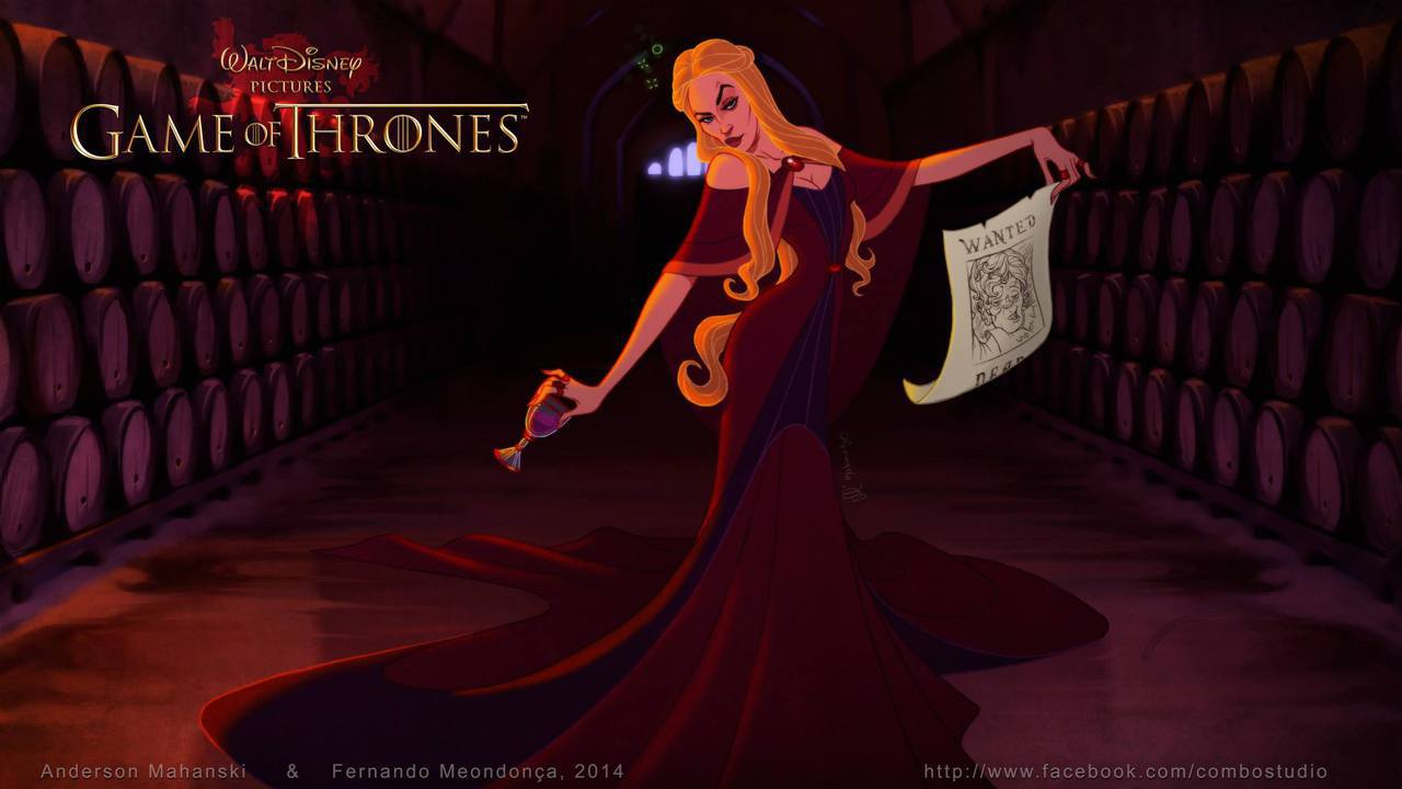 game of thrones, disney, and got image