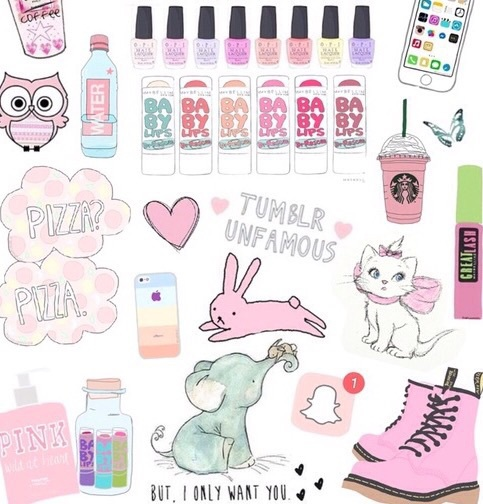 wallpaper, tumblr, and pink image