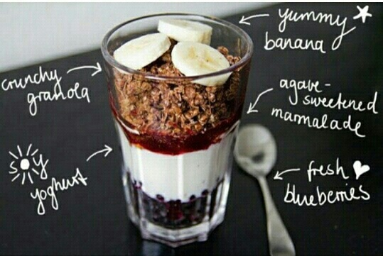 food, healthy, and banana image