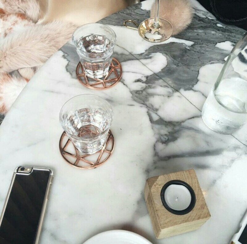 marble, theme, and pink image