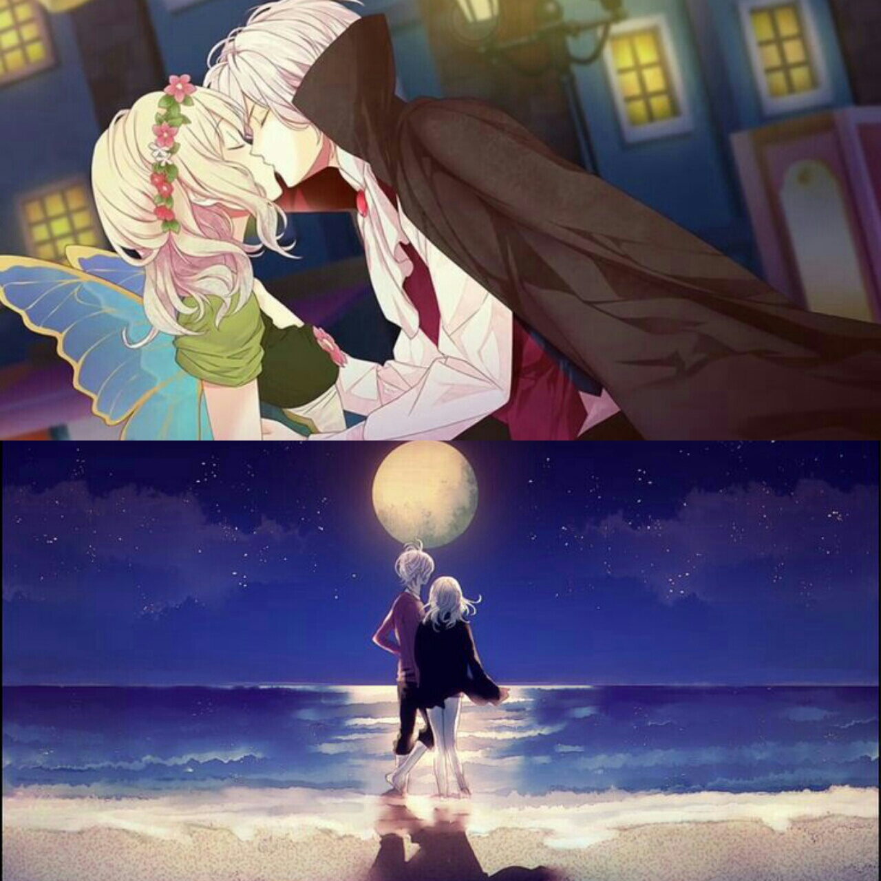 subaru, yui, and diabolik lovers image
