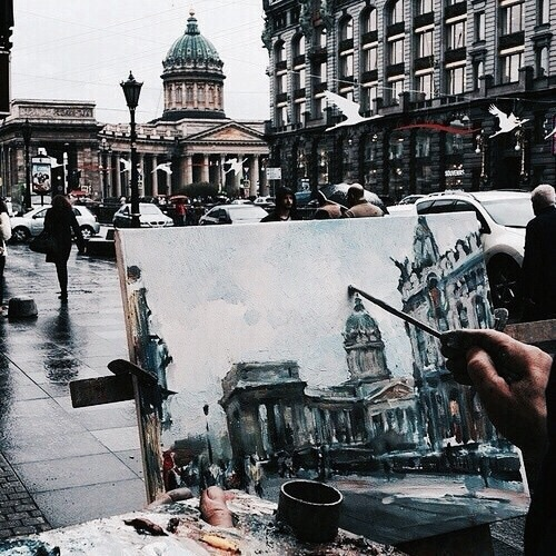 art, city, and passion image