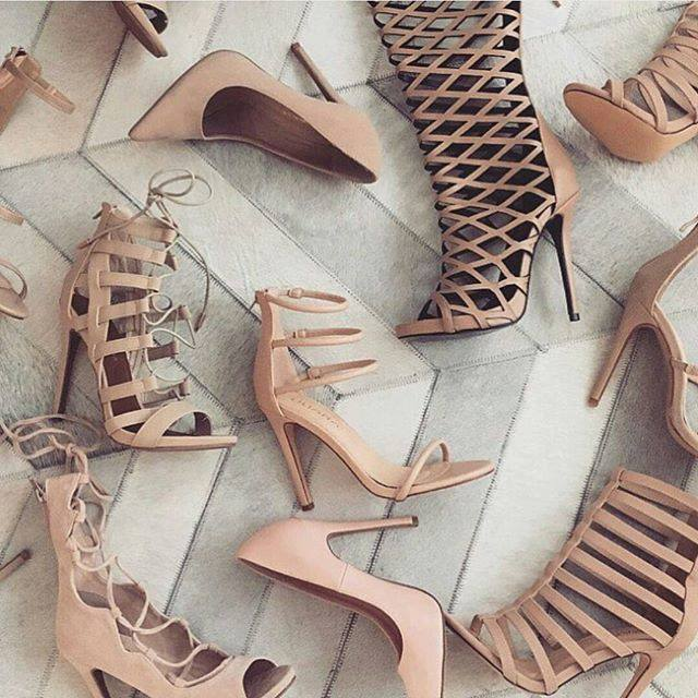 Nude, shoes, and heels image