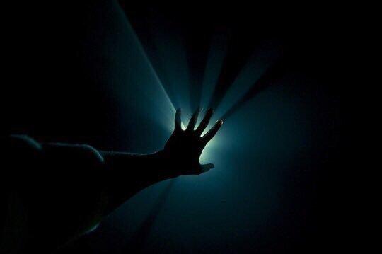 light, hand, and grunge image