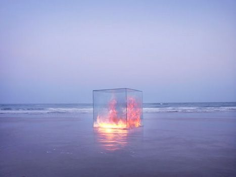 fire, sea, and water image