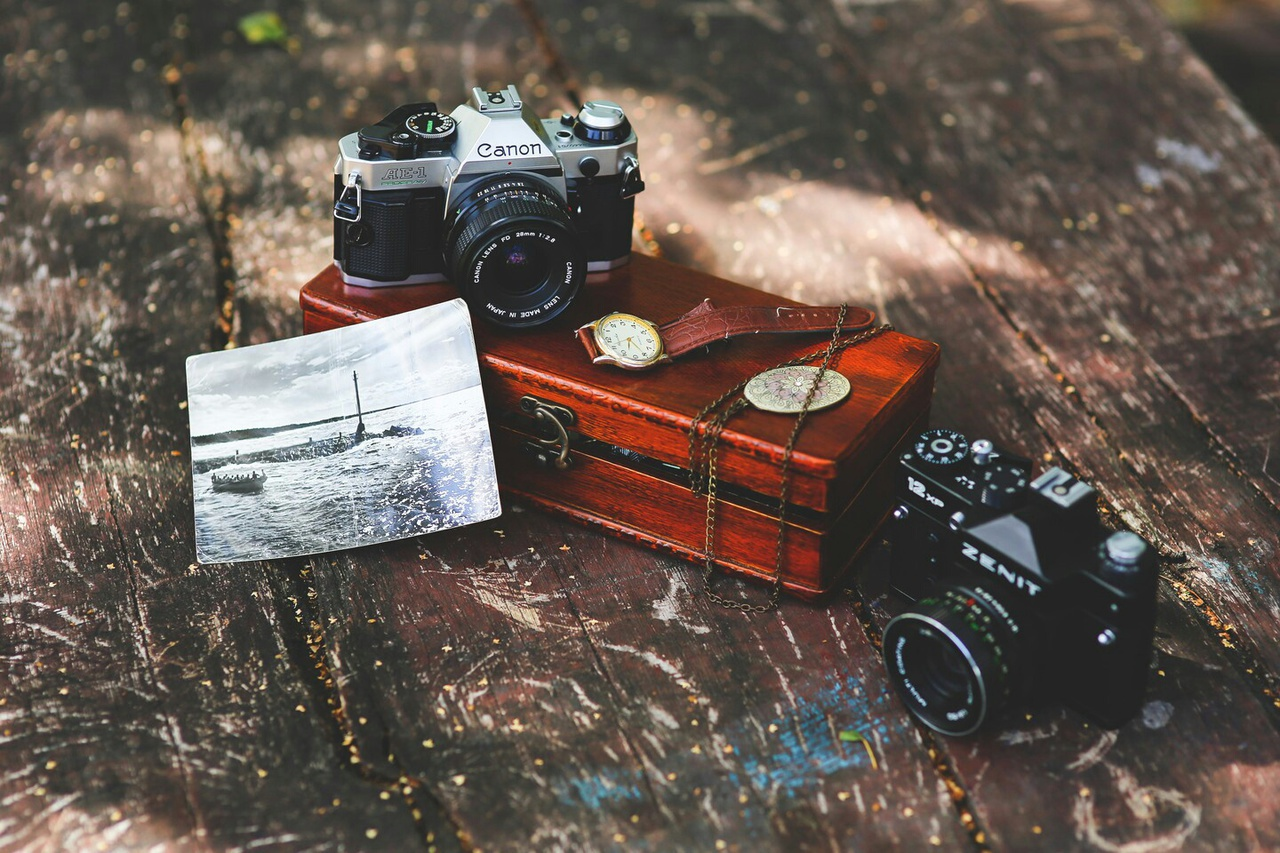 camera, photo, and vintage image