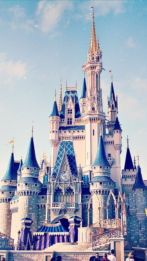 disney, castle, and wallpaper image