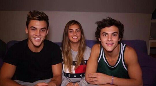 twins, ethan, and dolan image