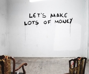 money, quotes, and chair image