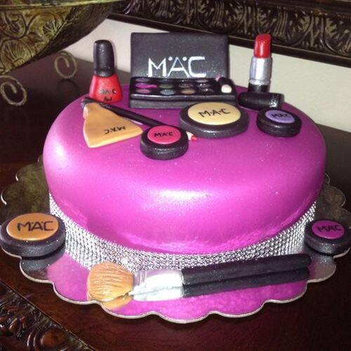birthday cake and mac image