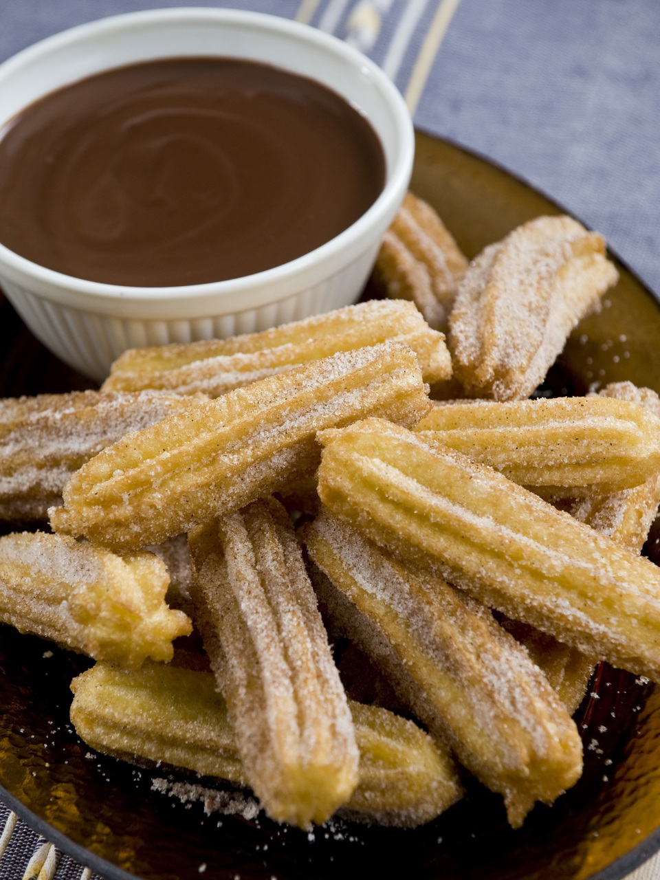 chocolate, food, and churros image