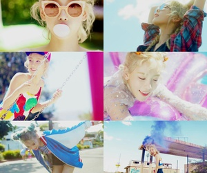 pretty, snsd, and kty image