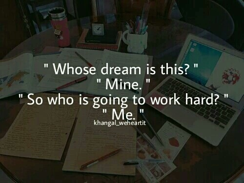 Dream, study, and motivation image