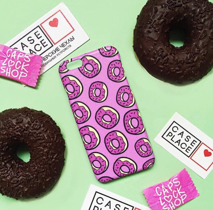 cases, donut, and food image