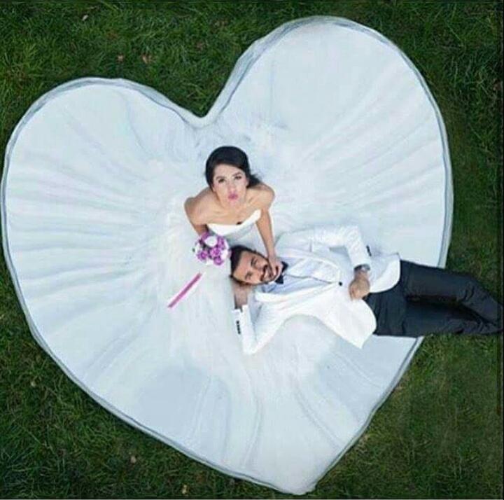 wedding, heart, and couple image