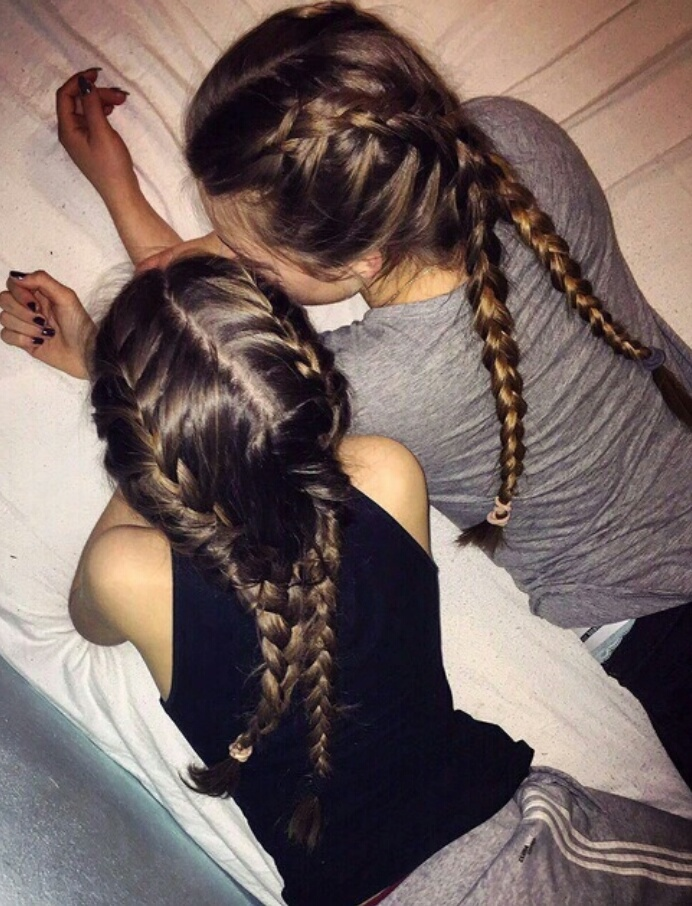 friends, hair, and tumblr image