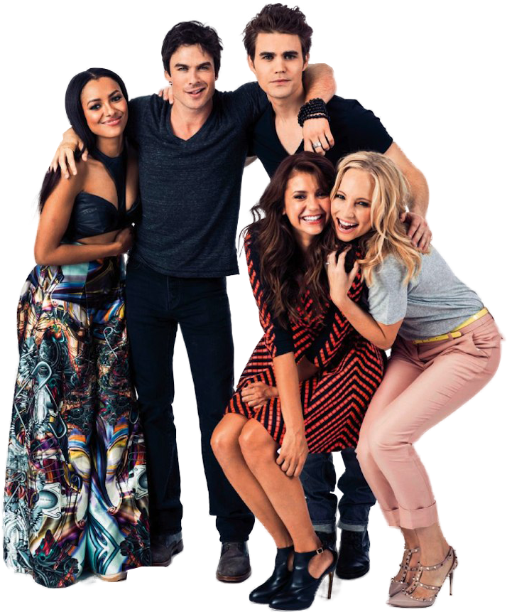 Nina Dobrev, ian somerhalder, and tvd image