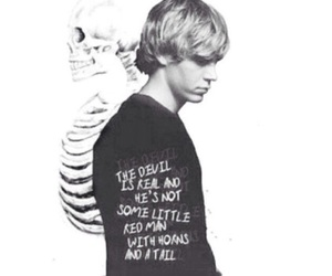 evan peters, american horror story, and quote image