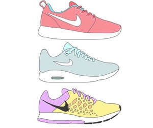 nike, overlay, and shoes image