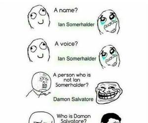 ian somerhalder, tvd, and damon salvatore image