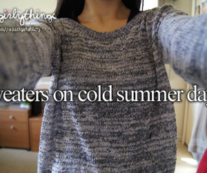 sweater, cold, and summer image