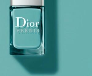 dior, nail polish, and nails image