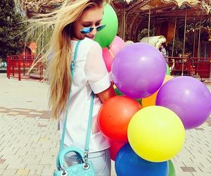 baloons, dior, and blogger image