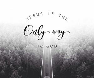 god, jesus, and love image