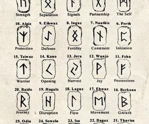 vikings, runes, and tattoo image
