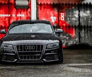 audi and car image
