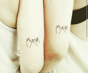 tattoo, couple, and sisters image