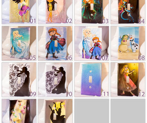 alice in wonderland, anna, and frozen image
